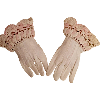 Vintage Fashion Gloves for a French Doll 3.5""