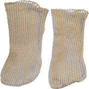 White French/German Doll Stockings