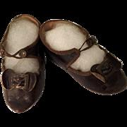 Bru Jne Doll Shoes Size 10