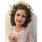 """1930 Deanna Durbin Doll 21"""""""