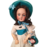 Unis France Doll 301 with Original Tag and Outfit  17""