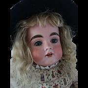 "Pretty Antique Kestner 164 Doll 21"""