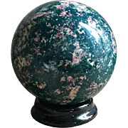 Wonderful Antique Sponge Design Carpet Bowling Ball