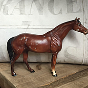 Wonderful Vintage 1940's HUBLEY Cast Iron Horse Doorstop
