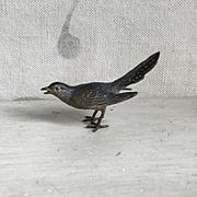 Wonderful Vintage Austrian Vienna Bronze Miniature Bird