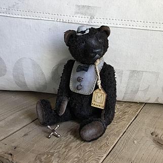 """Wonderful Handmade OOAK Dapper Teddy Bear By MashaLe """"Johnny"""""""