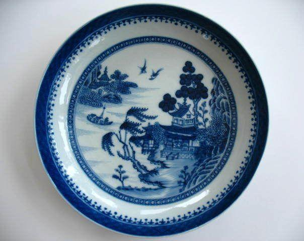Antique Chinese Canton Ware Bowl