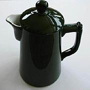 Antique C.P. & Co Ceramic Tea /Chocolate Pot