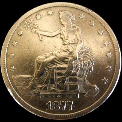 1877-S Trade Dollar