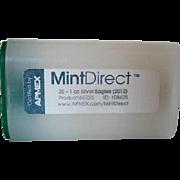 20 1oz 2012 SF Silver Eagles/Mint Direct