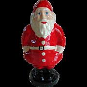 Vintage Paper Mache Santa Claus Figure