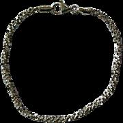 Vintage Milor Sterling Silver Bracelet