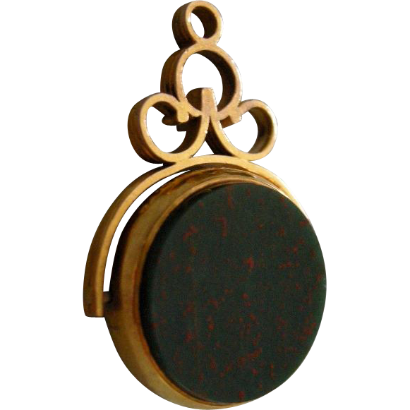 A Victorian 9ct  Gold Swivel Fob.