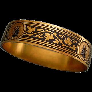 A Damascened Bracelet. Circa 1880.
