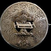 A Scottish Sterling Silver Brooch. Circa 1905.