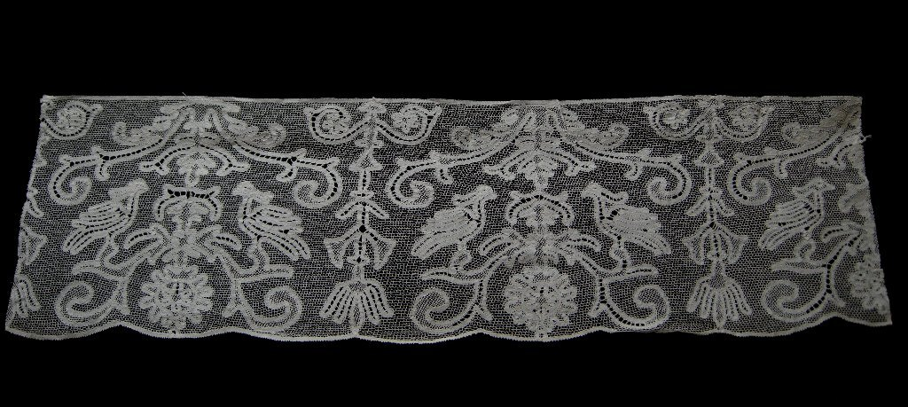 A piece of 18th Century Tape Lace.