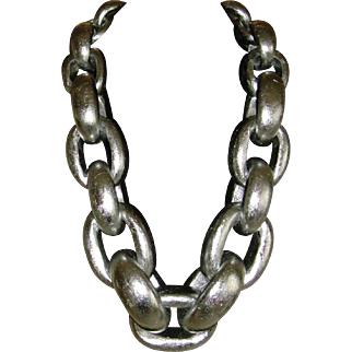Viktoria Hayman Oversized Link Necklace