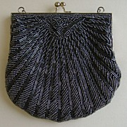 Silver Gray Evening Bag