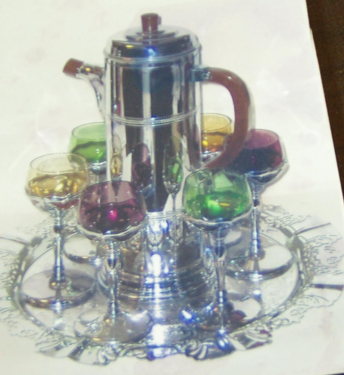 Farber bros krome kraft cocktail set from simplyvintage for Cocktail 102
