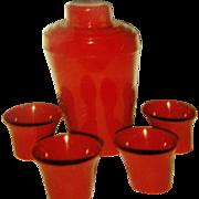 Bakelite Cocktail Shaker