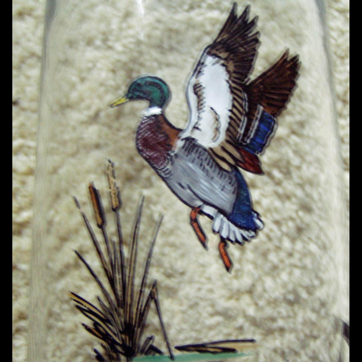 Heisey Glass Duck