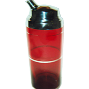 Ruby cocktail shaker