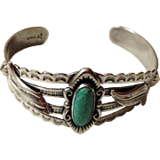 Bell Trading Co. Sterling and Turquoise Bracelet