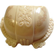 Celluloid Clamshell Ring Box