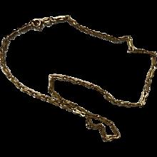 """18K Estate Necklace Chain 16"""""""