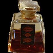 Art Deco Emeraude de Coty Splash Perfume