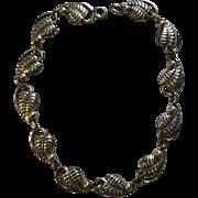 Danecraft Sterling Necklace 1950's