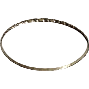 Danecraft Sterling Bangle 1950's-'60's