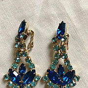 Juliana Blue Drop Earrings