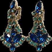 Juliana Blue Drop Earrings