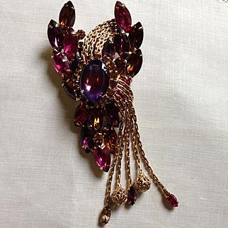 Juliana Multi-Color Stone brooch