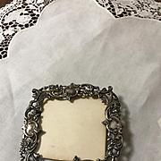 Art Nouveau Victorian/Edwardian  Sterling Picture Frame