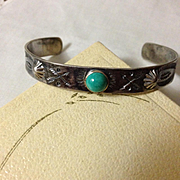 Harvey Era Sterling Cuff Bracelet