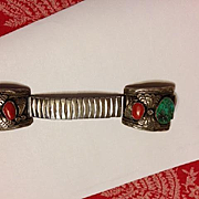 Vintage Navajo Watch Band by Master Herbert Taylor