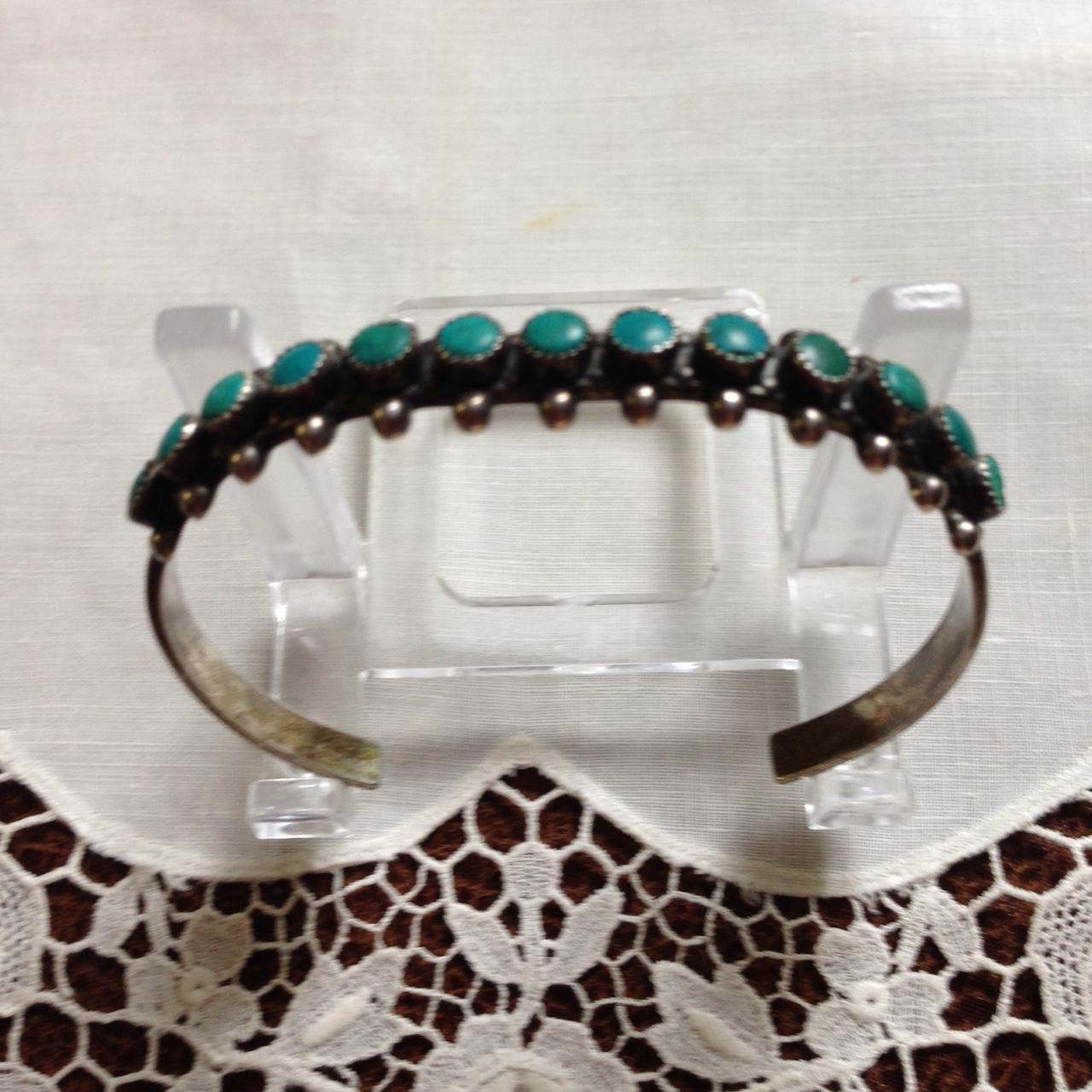 Fred Harvey Era Navajo Style Cuff Bracelet