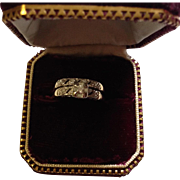 14K Diamond Engagement and Wedding Rings