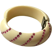 Weiss Thermoplastic Clamper Bracelet