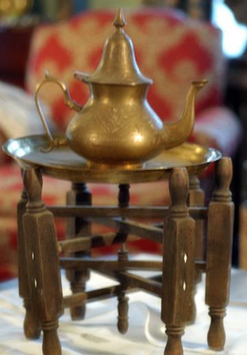 Antique and Unique - Interesting Beduoin Tea Ensemble 3 Pieces