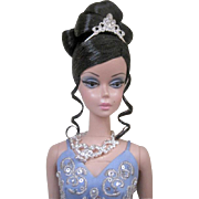 Blue Soiree Gold Label®® Silkstone Barbie Doll Mint and NRFB