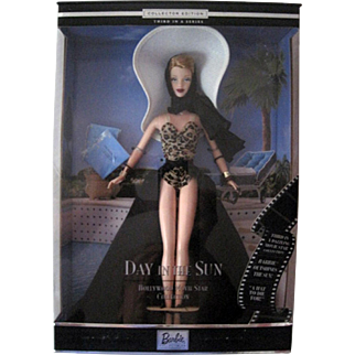 2000 Day in the Sun Redhead Barbie, Hollywood Movie Star Collection Third in a Series #26925