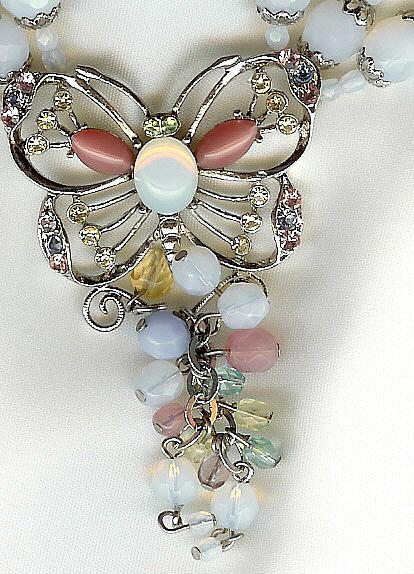 Butterfly Necklace - Too Many Beads to Count - Must See to Appreciate