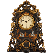 American Cast Iron Mantel Clock