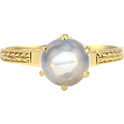 Cabochon Moonstone Ring