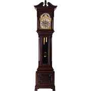 American Mahogany Bailey Banks & Biddle Tall Case Clock
