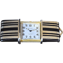 Swiss Art Deco Purse Watch by Movado