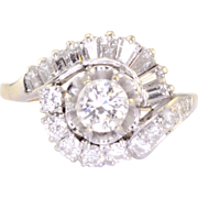 0.50 Carat VS Center Diamond Engagement Ring